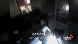 Body-cam video released in police shooting that injured 9-year-old Wichita girl